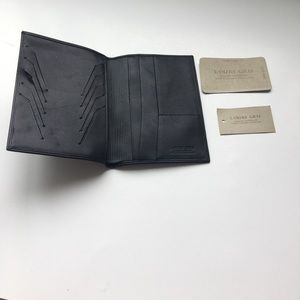L'Ours Gris Luxury designer leather wallet - BNWT